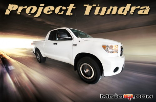 2011 Toyota Tundra Crewmax Rock Warrior. The MotoIQ Project Tundra.